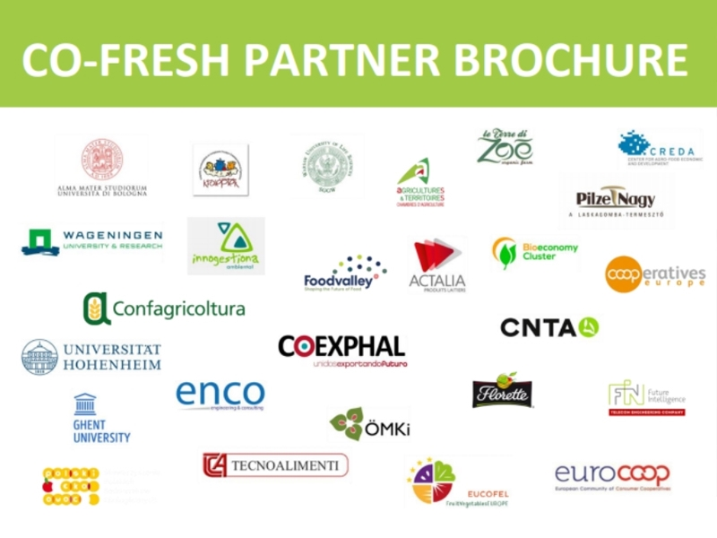 Le terre di zoè participates in Horizon2020 project CO-FRESH–Creation of sustainable supply chains Le Terre di Zoè