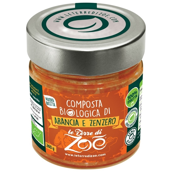 Italian Orange and Ginger Organic Compotes