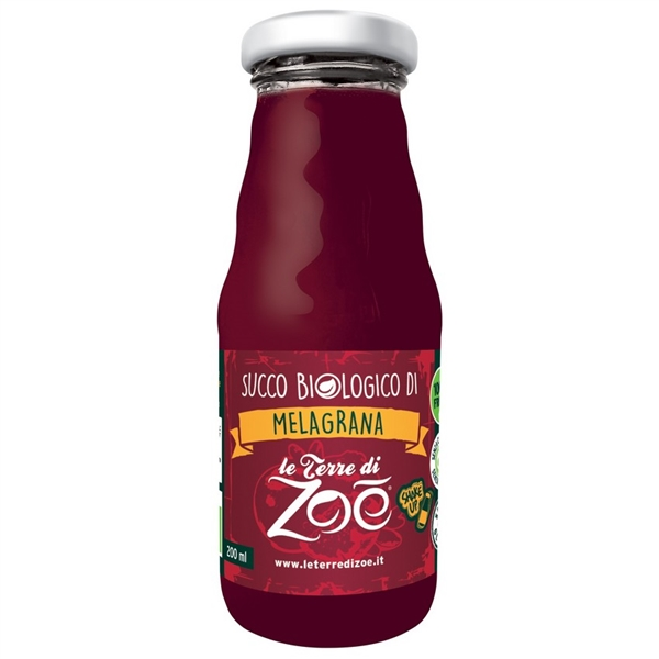 Italian Pomegranate 100% Organic Juice