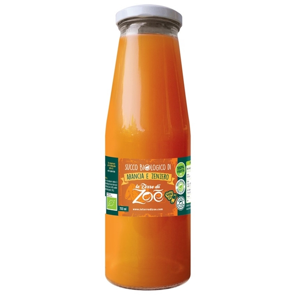 Jus Biologique Italienne Orange et Gingembre 700ml