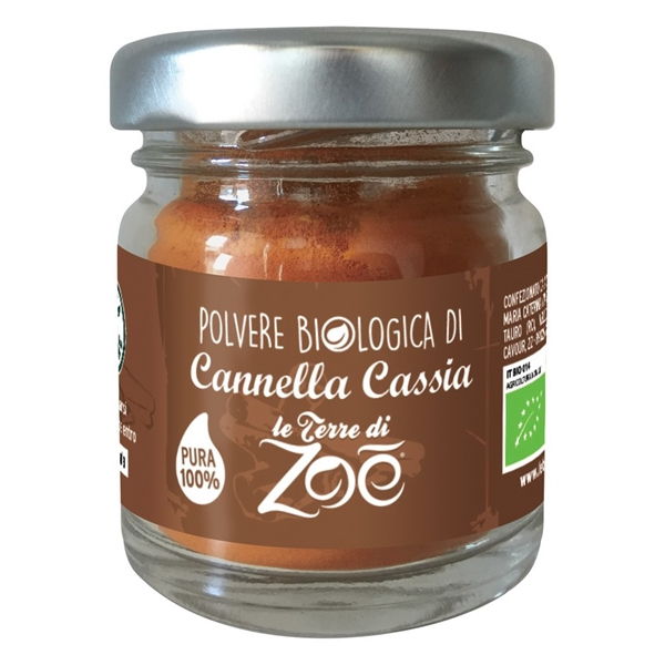 Organic powder Cinnamon