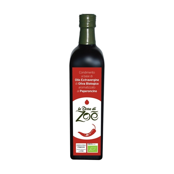 Organic ExtraVirgin Olive Oil flavoured Chili 250ml