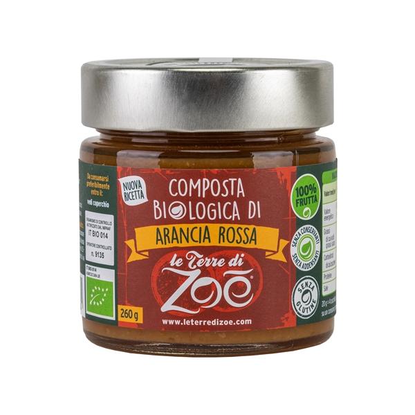 Compota de Naranja sangres organica italiano