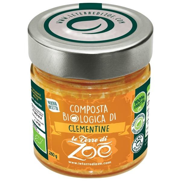 Compotes Biologique Italienne Clementine