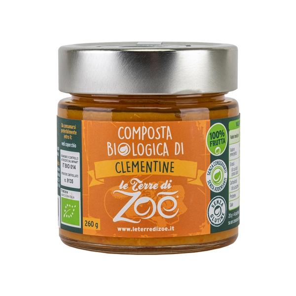 Compota de Clementina organica italiano