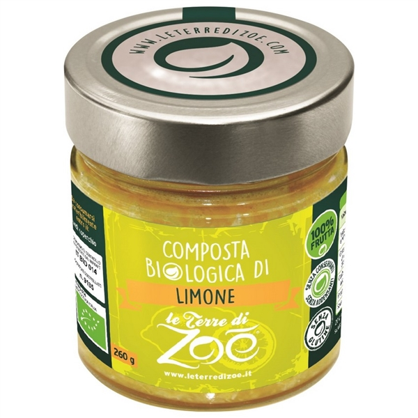 Composta biologica di Limone di Calabria 260g