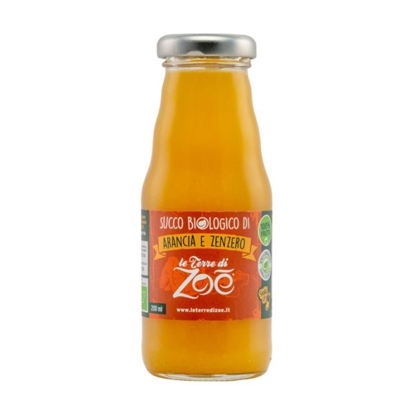 Zumo de Naranja y jengibre organico Italiano 200ml