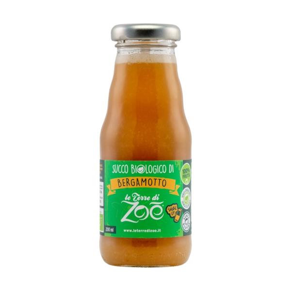 Succo di Bergamotto biologico di Calabria 100% 200ml