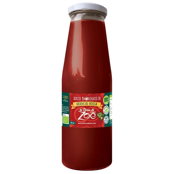Italian Red Orange 100% Organic Juice