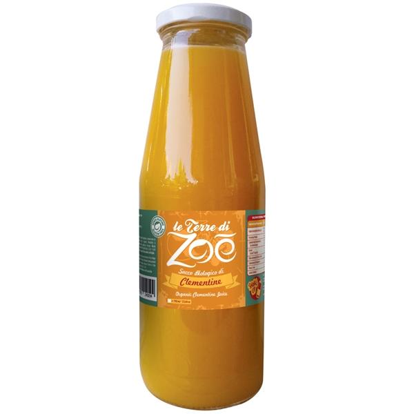 Succo Clementine biologiche di Calabria 700ml
