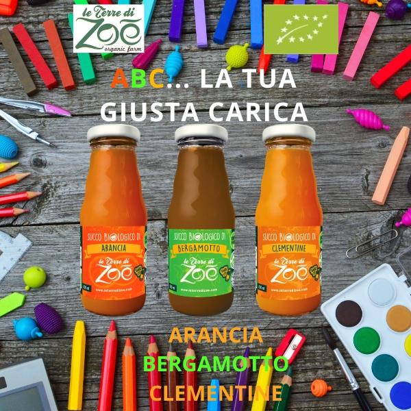 Box de jus de vitamine C 200 ml; - Orange, Bergamote et Clémentine